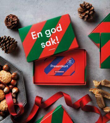 Julklappstips! Ge bort en god sak: presentkort på Myrorna.