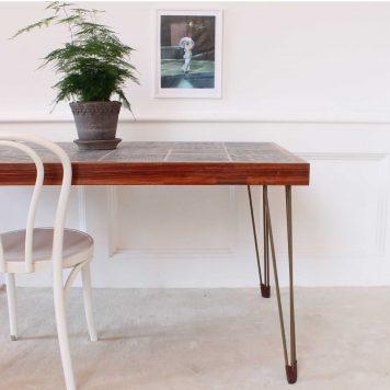 DIY – Så uppgraderar du ett gammalt kakelbord från 70-talet till stilsäkert 2010-tal