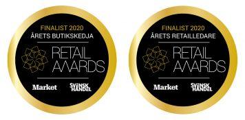 Myrorna finalister i två kategorier i Retail Awards
